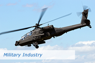 Hose solutions for military industry