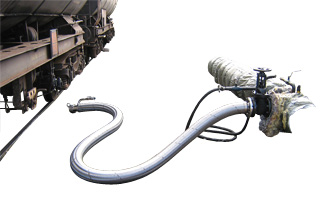 Stainless Steel Hose Assembly for Asphalt Reloading
